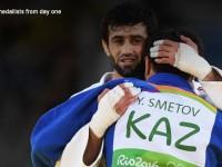 Рио-2016: Илк олтин медаллар, ғалаба шукуҳи ва дўстлик ифодаси