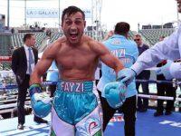 Фазлиддин Ғоибназаров профессионал боксдаги илк жангини ажойиб ғалаба билан якунлади (видео)